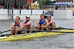 The Wyfold four in their race