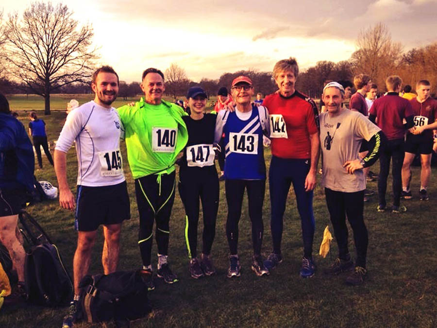 Richmond Park Run - Team Quintin