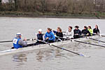 The QBC / University of Westminster women's eight
