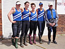 Women's novice four team photo
