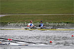 Steve and Ian in 'E' double sculls race
