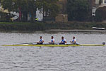 Senior coxless four